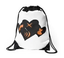 Fight, Act, Item and Mercy Drawstring Bag