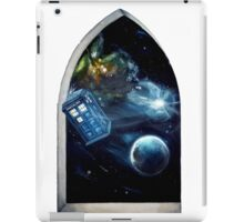 Whovian window :)  iPad Case/Skin