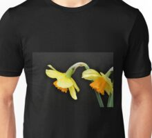 Pair of Daffodils in Profile Unisex T-Shirt