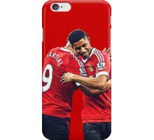 Anthony Martial & Marcus Rashford Manchester United Crop iPhone Case/Skin