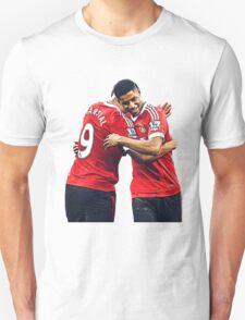 Anthony Martial & Marcus Rashford Manchester United Crop T-Shirt