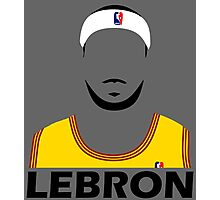 LeBron Abstract Photographic Print