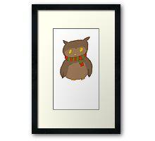Chibi Owl Framed Print