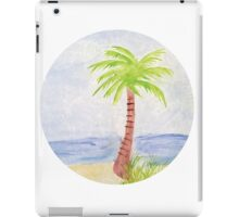 Palm Tree Watercolor iPad Case/Skin