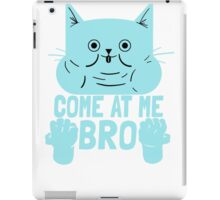 Cat Kitten Come At Me Bro iPad Case/Skin