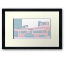 Miami Art Deco Dinner Framed Print