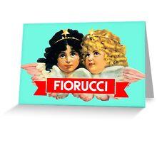 FIORUCCI 3 Greeting Card