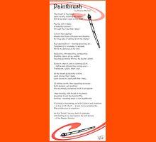 paintbrush poem Unisex T-Shirt