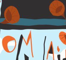 Tom Waits Sticker