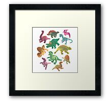 Dino Buddies Framed Print