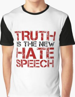 Truth Free Speech Political Offensive Liberty Freedom Graphic T-Shirt