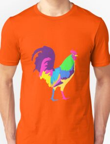 Psychedelic Chicken Unisex T-Shirt