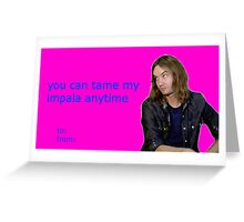 Tame Impala Valentine Greeting Card