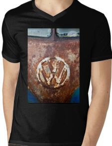 VW Rustic Mens V-Neck T-Shirt