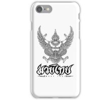 Garuda Muay thai traditional thailand martial art iPhone Case/Skin