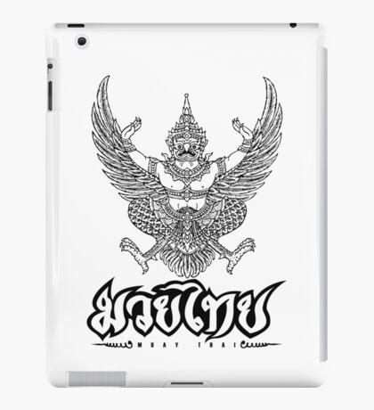 Garuda Muay thai traditional thailand martial art iPad Case/Skin