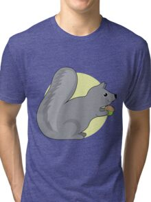 Squirrel and Nut Tri-blend T-Shirt