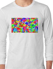 Rainbow Crystals Long Sleeve T-Shirt