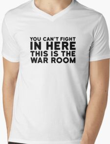 Dr. Strangelove Quote Movie Stanley Kubrick Funny Mens V-Neck T-Shirt