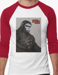 Dawn of the Planet of the Apes Men's Baseball ¾ T-Shirt