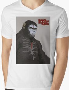 Dawn of the Planet of the Apes Mens V-Neck T-Shirt