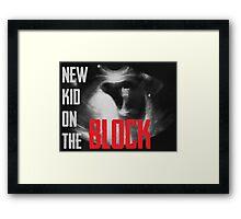New Kid on the Block Framed Print