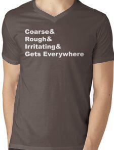 And Sand Mens V-Neck T-Shirt