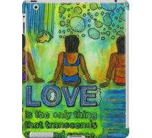 Three on the Beach iPad Case/Skin
