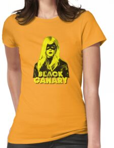 Black Canary Womens Fitted T-Shirt