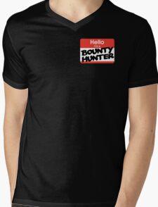 Hello I'm A Bounty Hunter Mens V-Neck T-Shirt