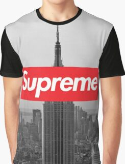 Supreme New York  Graphic T-Shirt