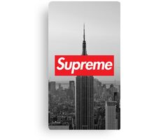 Supreme New York  Canvas Print