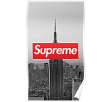 Supreme New York  Poster