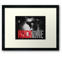 Rockeine Framed Print