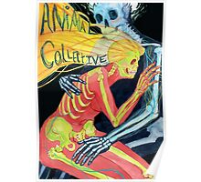 Animal Collective Skeletons Poster