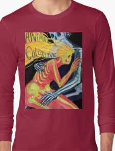 Animal Collective Skeletons Long Sleeve T-Shirt
