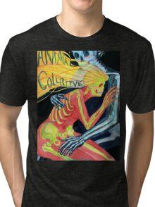 Animal Collective Skeletons Tri-blend T-Shirt