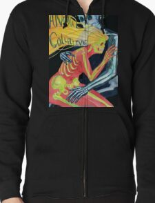 Animal Collective Skeletons Zipped Hoodie