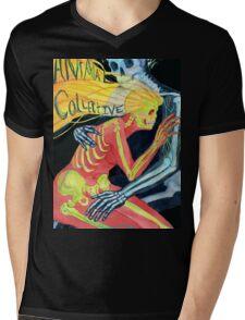 Animal Collective Skeletons Mens V-Neck T-Shirt