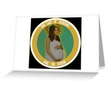 JANE THE COIN Greeting Card