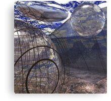 Alien Landscape #2 Canvas Print