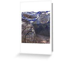 Alien Landscape #2 Greeting Card