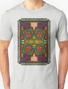 Psychedelic Abstract colourful work 227Big Crest Unisex T-Shirt