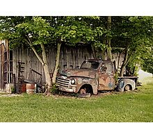 """""""Old Clunker, The Side View""""... prints and products Photographic Print"""