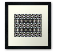 """forest """"troll"""" in the snow #2 pattern Framed Print"""