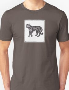 Graphic Cheetah Unisex T-Shirt