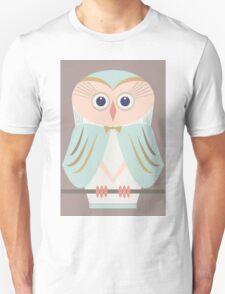 HOODED OWL Unisex T-Shirt