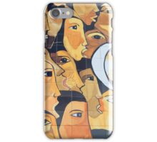 Painted Faces iPhone Case/Skin