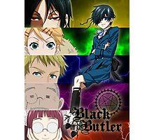Black Butler - Ciel and his servants Photographic Print
