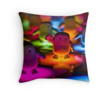 Adipose on the Dance Floor Throw Pillow